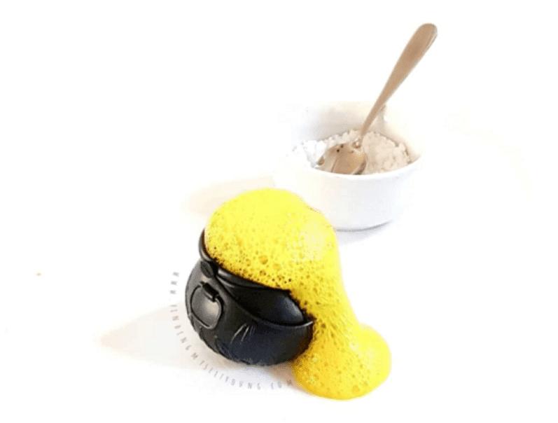 bicarb and vinegar experiment