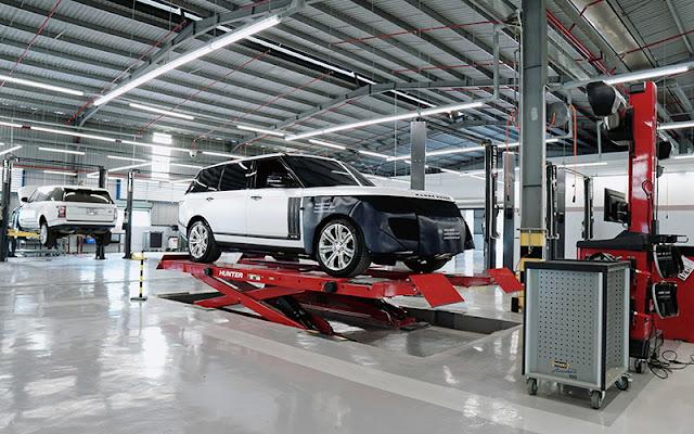 Hệ thống động cơ Range Rover cần được bảo hành chính hãng