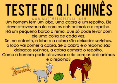Teste de Q.I. Chinês