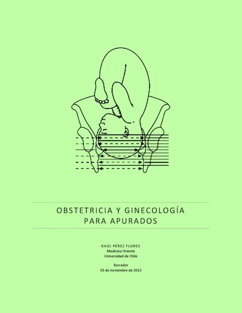 Obstetricia y ginecología para apurados – Raúl Pérez Flores