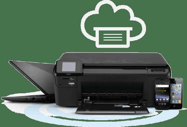 Conexión de impresora y computadora utilizando Google Cloud Print.