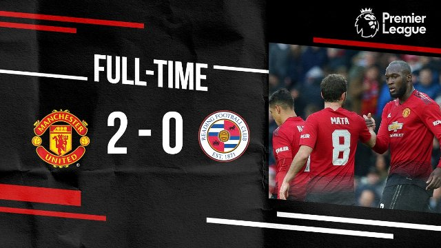 Manchester United vs Reading 2-0 Video Gol & Highlights