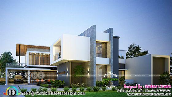 box model contemporary home