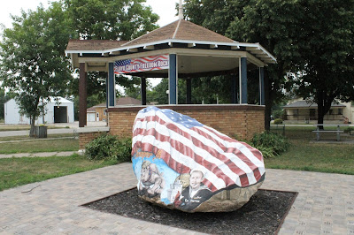 North Central Iowa Freedom Rock Tour - Floyd County Freedom Rock, Rockford, Iowa