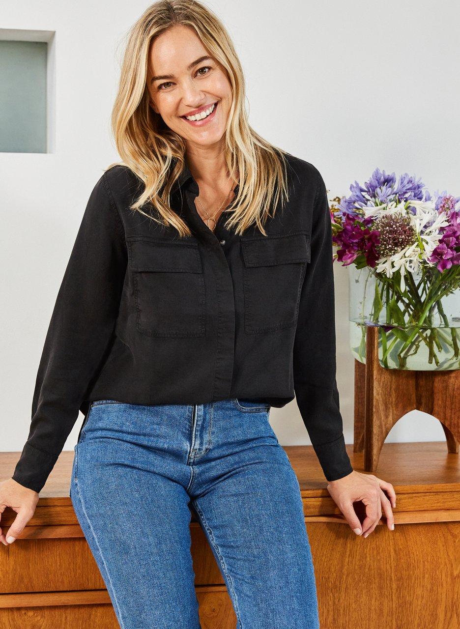 baukjen Alessandra Tencel Shirt