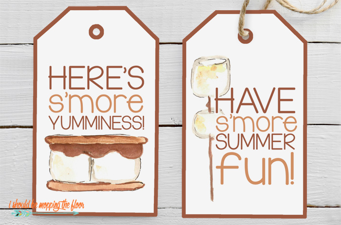 S'more Kit Gift Tags