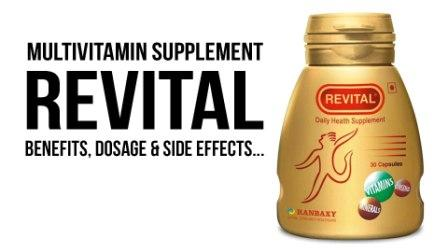 REVITAL Multivitamin   Benefits, Dosage and Side Effects