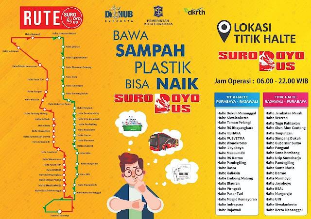 rute bus surabaya