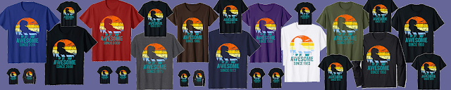Awesome since Dinosaur Rex birthday t-shirt