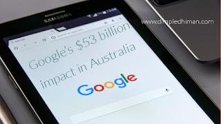 Google's $53 billion impact in Australia