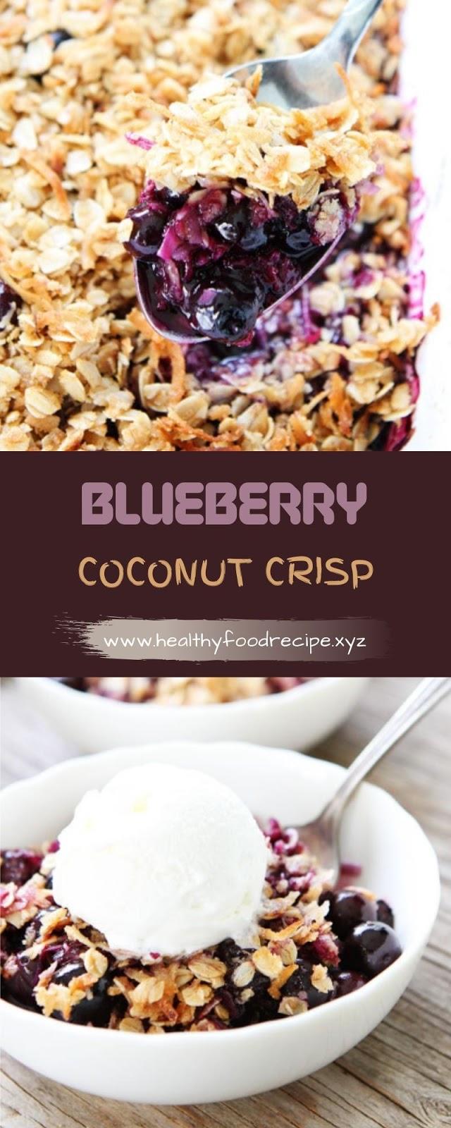BLUEBERRY COCONUT CRISP