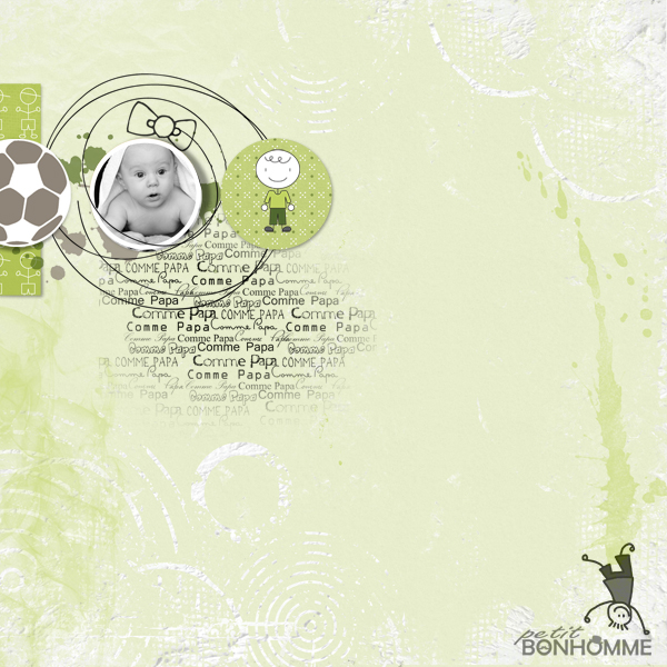 comme papa © sylvia • sro 2016 • le digiscrap de ga'l • geometric shapes no 1 freebie
