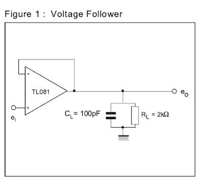 Dyson Lin Air-2 voltage follower devresi