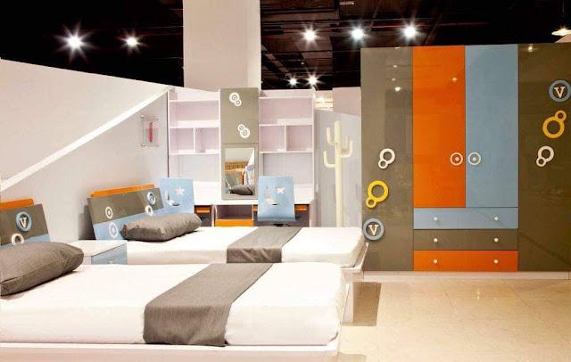 غرفة نوم اطفال 2019 احدث غرفة مودن حديثة للاطفال