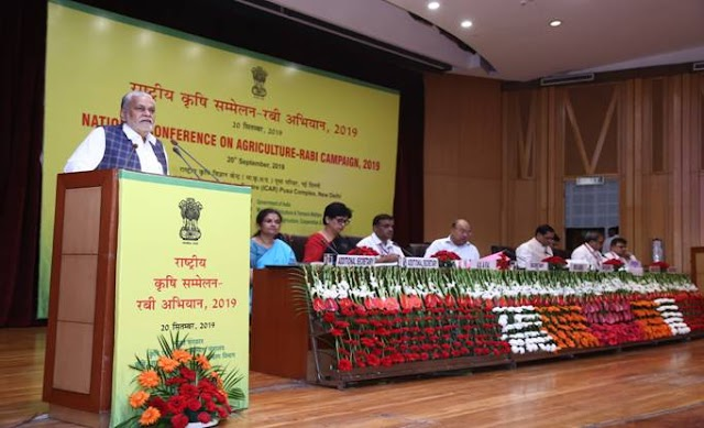 National Conference on Agriculture - RABI Campaign 2019 held in New Delhi