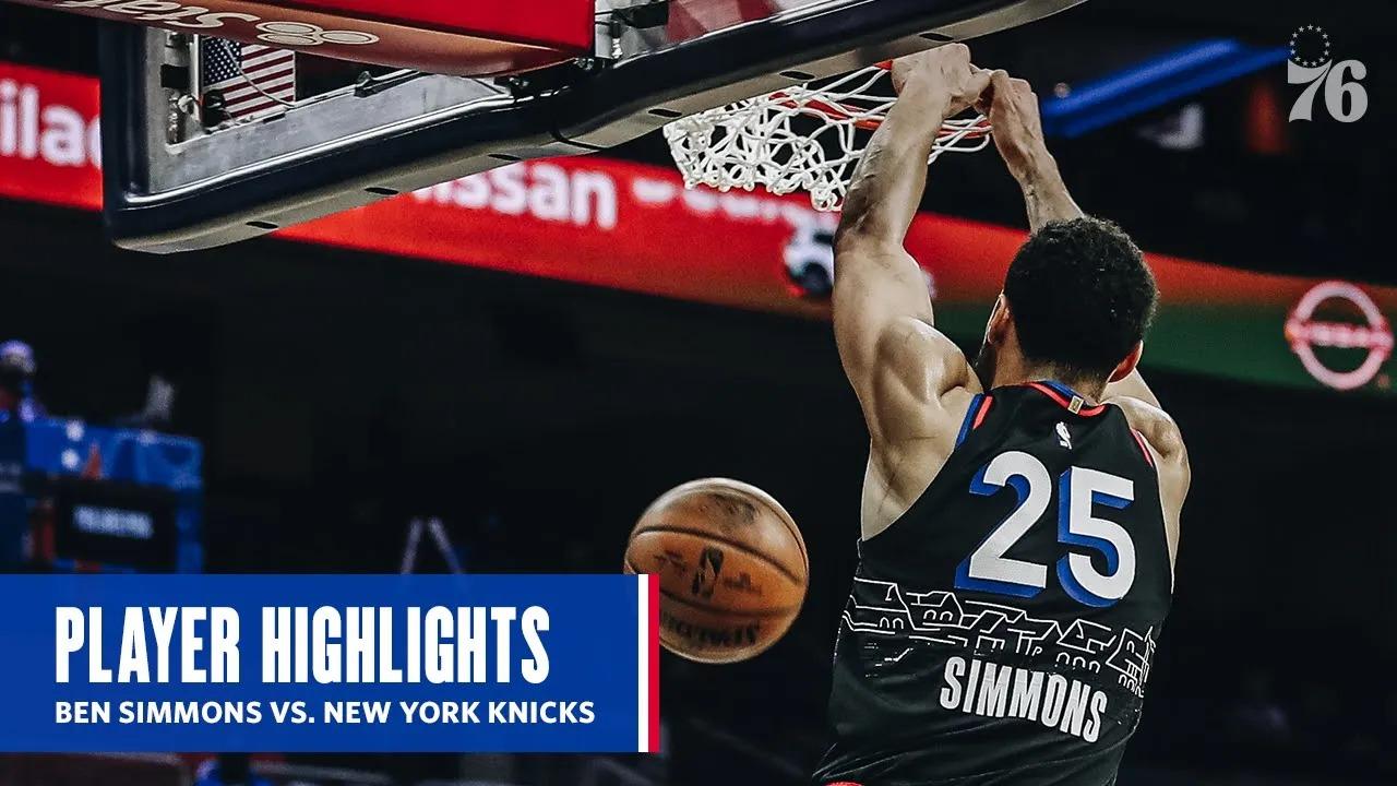 Ben Simmons 16pts 13reb 7ast vs NYK | March 16, 2021 | 2020-21 NBA Season