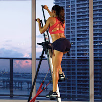 MaxiClimber XL-2000 Vertical Climber  with adjustable resistance &  height adjustable handlebars, image