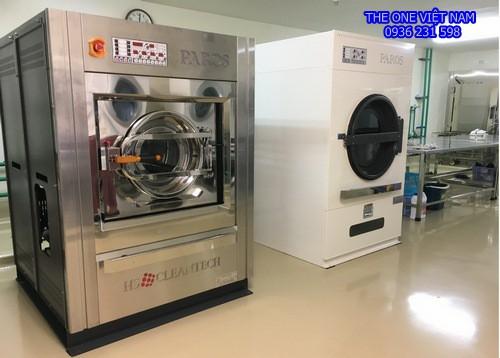 Máy giặt sấy công nghiệp cho Nhà Khách Nghệ An