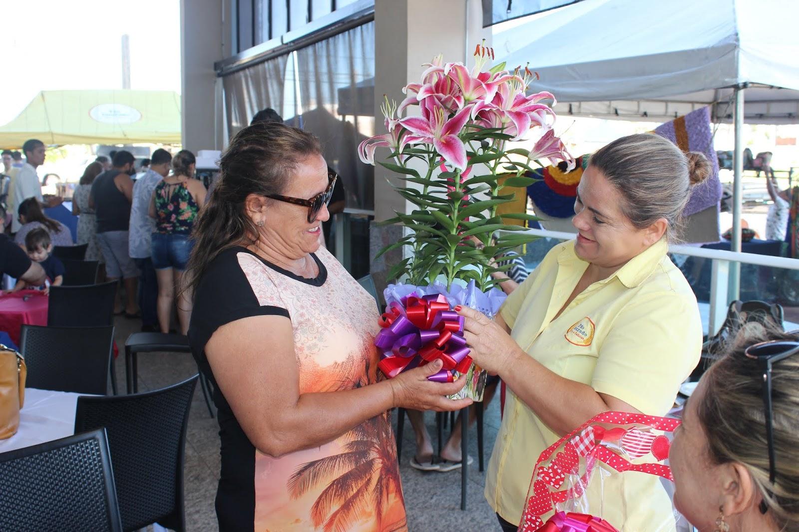 IMG 3661 - Dia 12 de maio dia das Mães no Jardins Mangueiral foi com muta diverção e alegria com um lindo café da manha