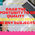 Grab The Opportunity To Get Quality Assignment Help For Any Subjects