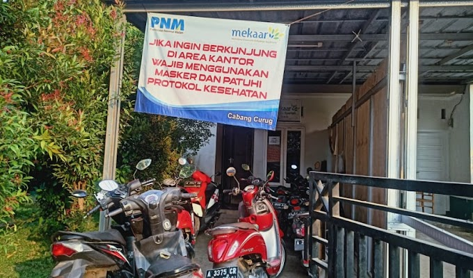 Dicurigai Ilegal, PT. PNM Koprasi Mekar Cabang Curug Ternyata ber OJK
