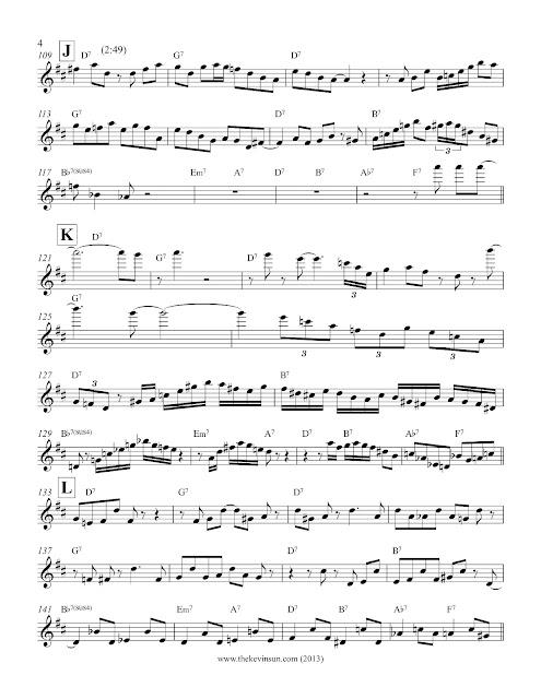 "Joe Henderson ""Isotope"" Solo Transcription - 4"