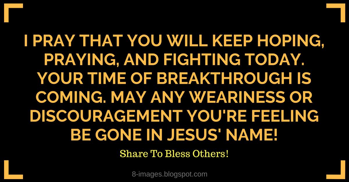 Prayer for a Breakthrough