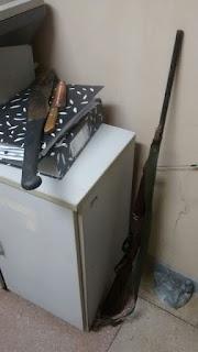 9º BPM apreende mais uma arma de fogo em Cuité