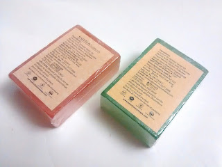 Product Review - Aster Luxury Soaps - Saffron and Neem Aloe Vera