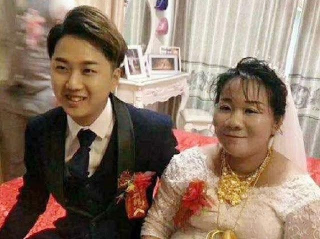 38-летняя невеста заплатила почти миллион долларов родителям, чтобы выйти замуж за их 23-летнего сына