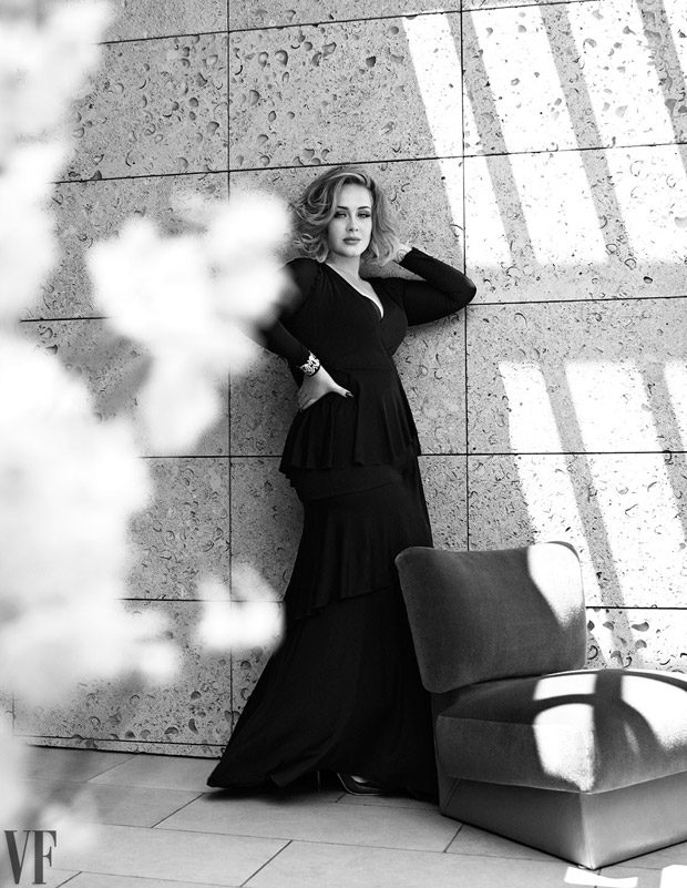 Adele goes chic for Vanity Fair December 2016
