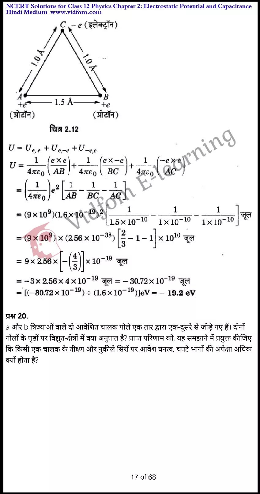 class 12 physics chapter 2 light hindi medium 17