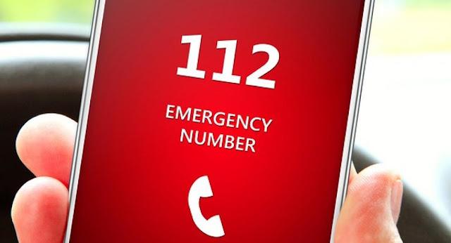 Έκτακτη ενημέρωση από το 112 - Οι στιγμές είναι κρίσιμες. Μείνετε σπίτι.