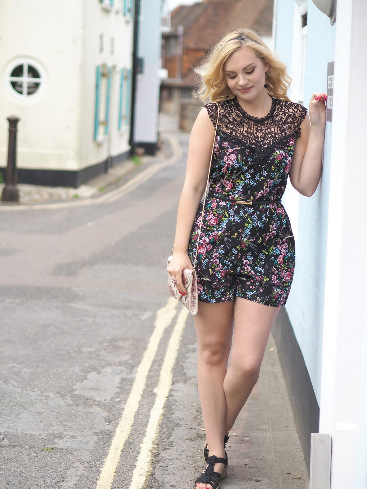 Celebrating 2 Years of Blogging, Katie Kirk Loves, Oasis Royal Worcester Playsuit, Blogger Anniversary, UK Blogger, Fashion Blogger, Style Blogger, Giveaway, Prize, Competition, Win This, Oasis Fashion, Blog Giveaway, Pink Make Up, Beauty Blogger, Pink Giveaway, Yankee Candle