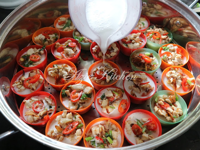 Kuih Talam Berlauk Azie Kitchen