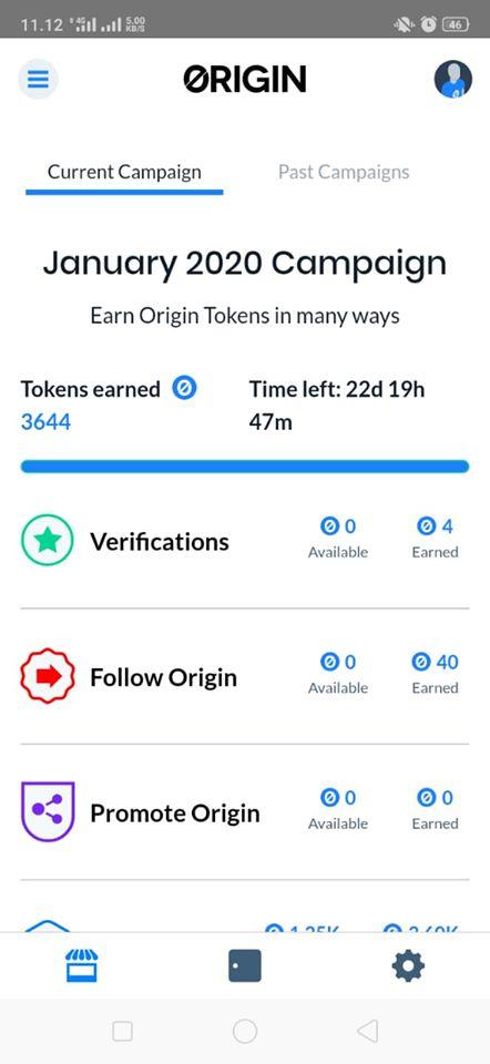 Airdrop Terbaru Origin Protocol OGN Market Binance