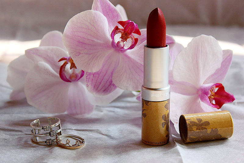 Матовая органическая помада Couleur Caramel Rouge a Levres Lipstick #120 сочный гранат / отзывы