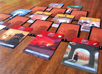 Age 1 Card Stack in 7 Wonders: Duel the Card Game
