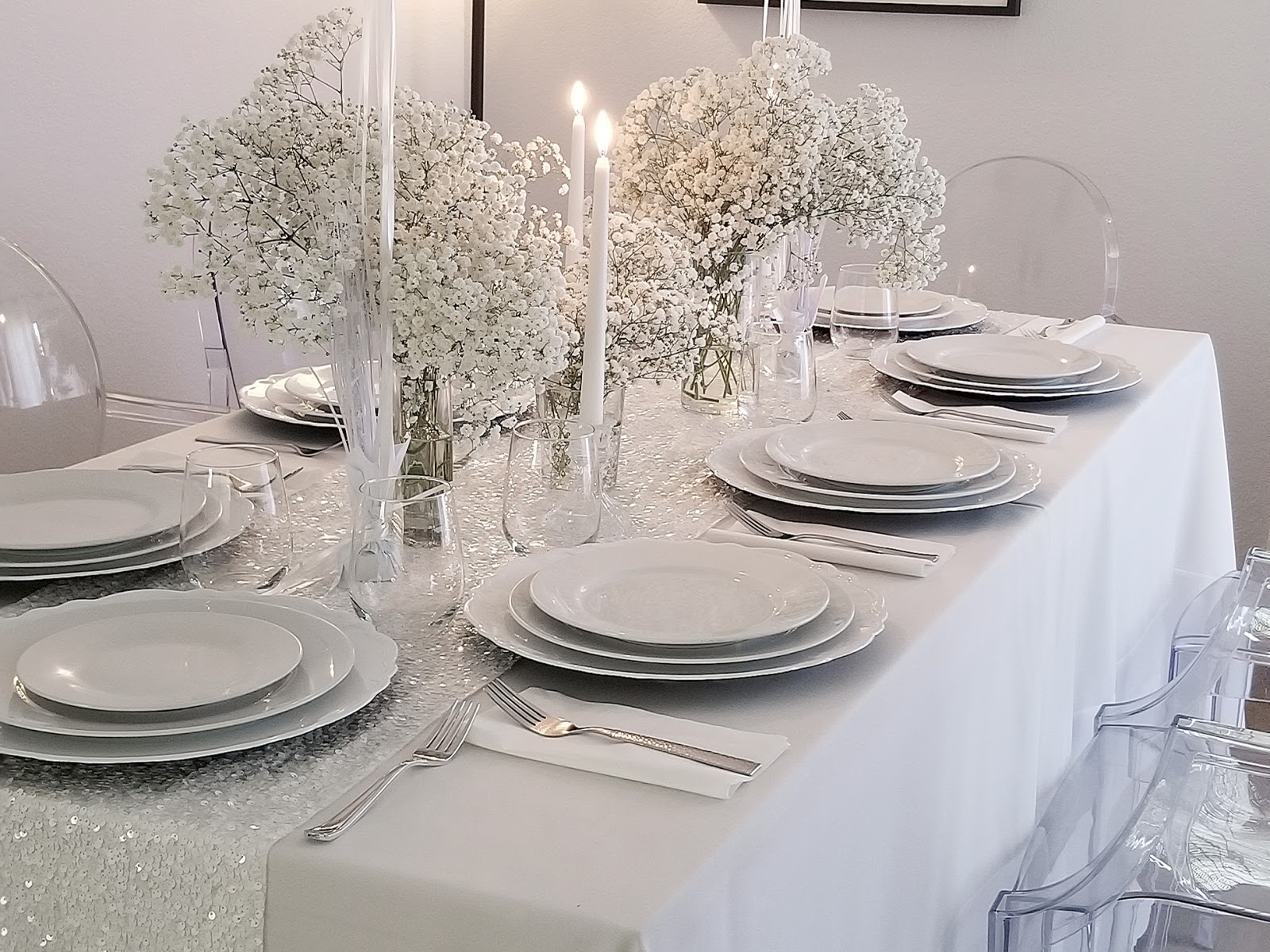 Oscar Bravo Home An All White Dinner Party