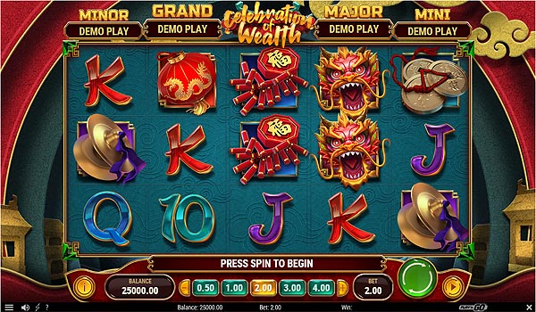 Main Gratis Slot Indonesia - Celebration of Wealth (Play N GO)