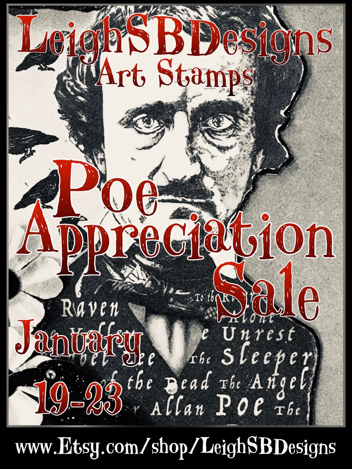 Poe Appreciation Sale Jan 19-23