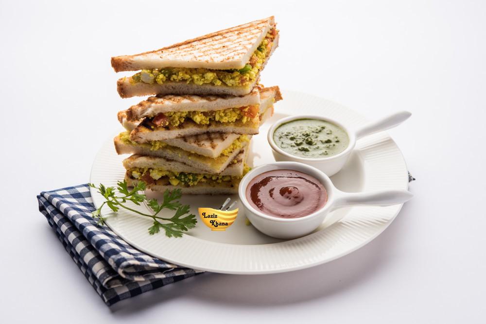 Paneer Sandwich Recipe in Hindi