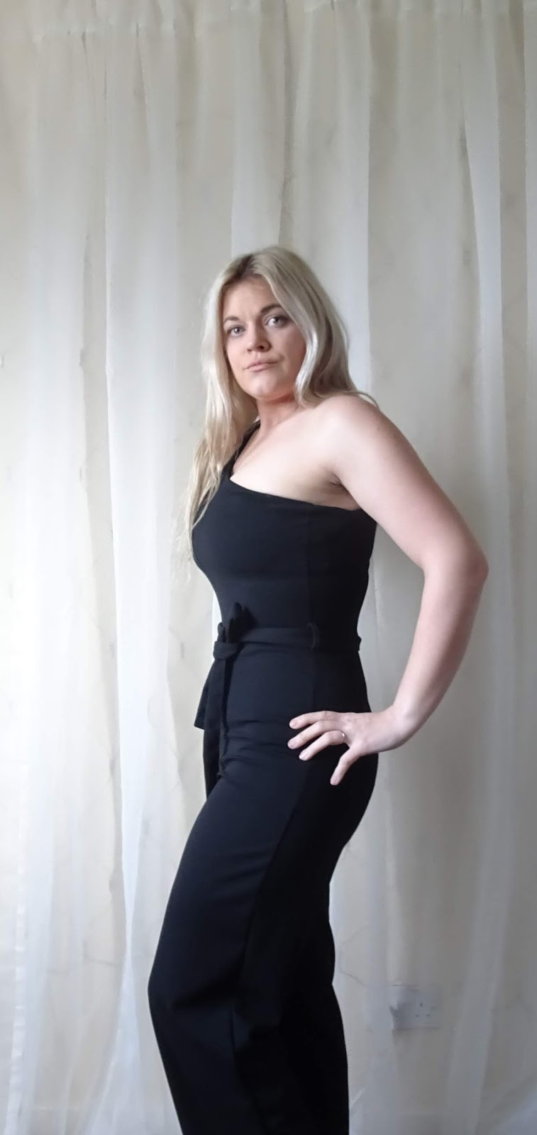 d1431051c Black Belted One Shoulder Jumpsuit - Evelyn £31.99 This is the gorgeous one-shoulder  jumpsuit in black. It comes in lots of colours. Mine is a size 10.