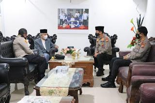 Kapolda Silaturrahim Ke Ketua MUI Provinsi Sulsel