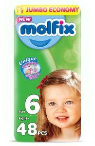 Molfix Diaper No. 6