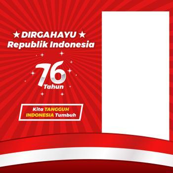 60 Link Twibbon Bingkai Foto Digahayu Hari Kemerdekaan Republik Indonesia ke-76 2021 - Hari Ulang Tahun