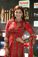 Mannara Chopra and Khushbu in Red at IIFA Utsavam Awards 2017  Day 2  Exclusive 08.JPG
