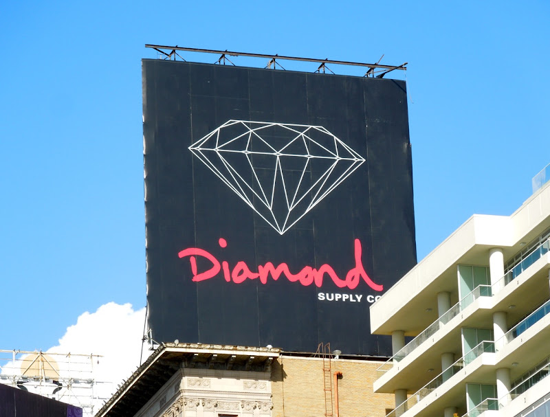 Diamond Supply Co billboard Hollywood