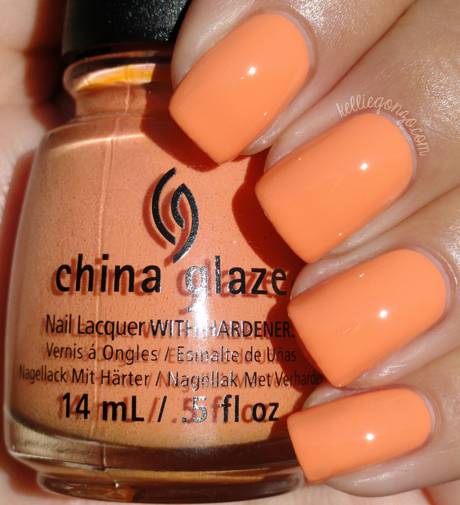 China Glaze - If In Doubt, Surf It Out // kelliegonzo.com