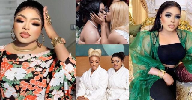 """No bestie anywhere"""" – Bobrisky declares after fall out with former bestie, Tonto Dikeh"""